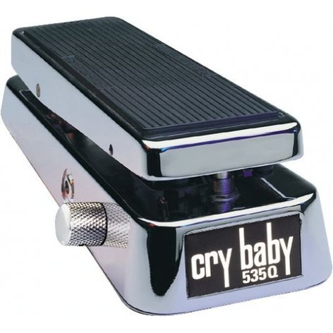 Dunlop Manufacturing 535Q-C Chrome Crybaby Wah Pedal Crybaby Q Chrome 535Q-C