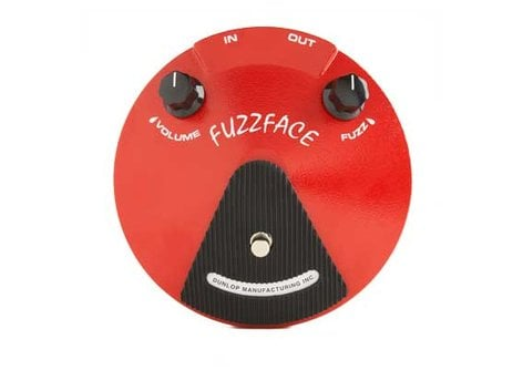 Dunlop Manufacturing JDF2 Fuzz Face Distortion Pedal, Fuzz/Distortion JDF2