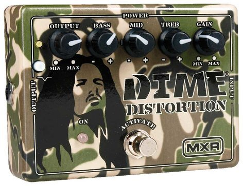 MXR Pedals DD11 Dime Distortion Guitar Effects Pedal, Distortion DD11