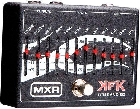 MXR Pedals KFK1 Kerry King 10-Band EQ Pedal, Equalizer KFK1