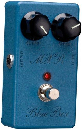 MXR Pedals M103 Blue Box Octave Fuzz Pedal, Octave/Fuzz M103-MXR