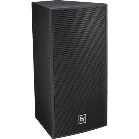 "Electro-Voice EVF1122S/66-BLACK Two-Way 12"" Full-Range Loudspeaker, 500W @ 8ohms, 60X60 Degree Dispersion EVF1122S/66-BLACK"