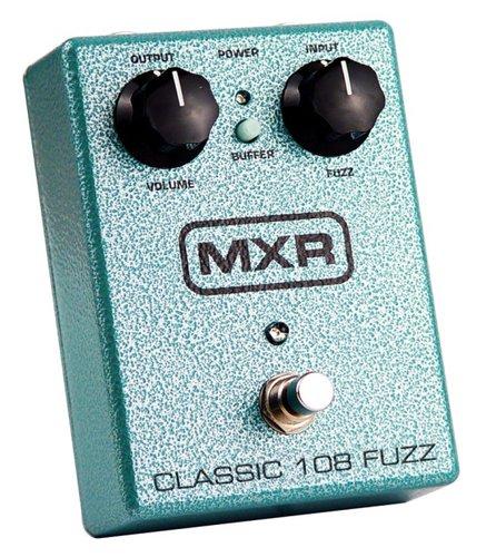 MXR Pedals M173 Classic 108 Fuzz Pedal, Fuzz M173-MXR