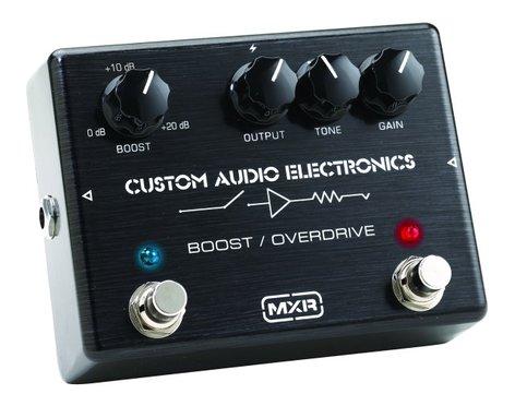 MXR Pedals MC402 CAE Boost-Overdrive Pedal, Custom Audio Boost MC402-MXR