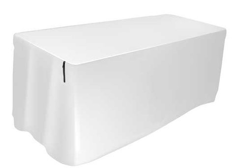 Ultimate Support USDJ-6TCW Table Cover, 6 Ft, White 17418 USDJ-6TCW