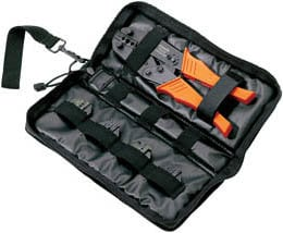 Paladin Tools PA4302  1300 Series Crimper Broadcast Pack PA4302