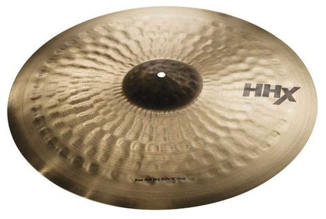 "Sabian 12172 21"" HHX Raw Bell Dry Ride Cymbal in Natural Finish 12172"