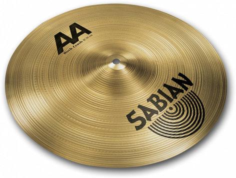 "Sabian 21609 16"" AA Rock Crash Cymbal in Natural Finish 21609"