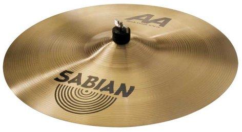 "Sabian 21809 18"" AA Rock Crash Cymbal in Natural Finish 21809"