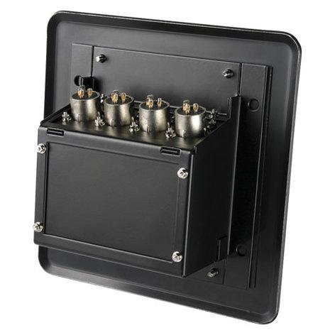 Atlas Sound FB4-XLRF  Floor Box for Recessed Mic Inputs, 4x XLR Female FB4-XLRF