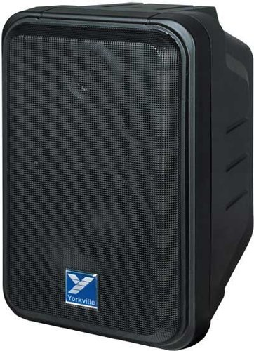 "Yorkville C120P 100W Weather Resistant Powered Speaker with 5"" Woofer C120P"