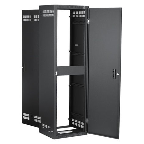 "Atlas Sound 240-18 18.5"" Deep 40RU Welded Cabinet, Includes Rear Door 240-18"