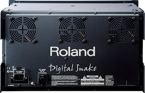 Roland System Group S4000S-MR S-4000S Modular Rack, No Cards S4000S-MR