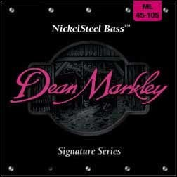 Dean Markley 2604A Medium Light Nickel Steel Electric Bass Strings 2604A