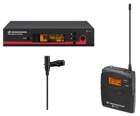 Sennheiser ew 112 G3 CC Wireless Microphone System with ME2 Lavalier & Rackmount Kit EW112-G3-CC
