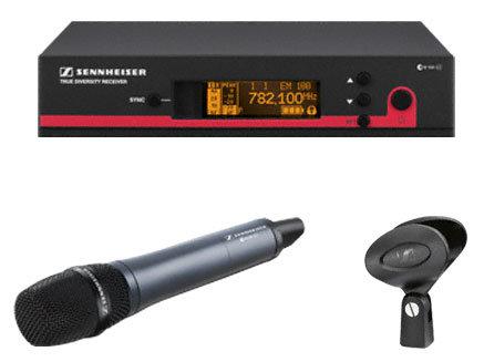 Sennheiser ew 135 G3 CC Wireless Handheld Microphone System with e835 and Rackmount Kit EW135-G3-CC
