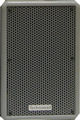 Technomad PARIS-616-GREY 250W 2-Way Full-Range Speaker in Grey PARIS-616-GREY