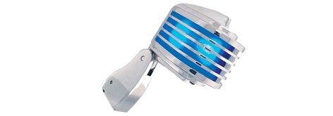Heil Sound FIN-W  Dynamic Cardioid Microphone, White LED/Screen FIN-W