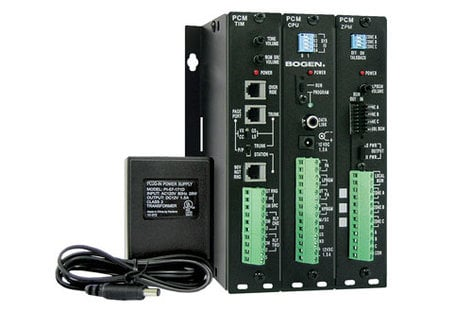 Bogen Communications PCMSYS3 3-Zone PCM Prebuilt w/PCMPS2 PCMSYS3