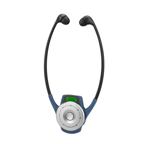 Sennheiser HDE2020-D-II-US  6 Channel Stethophone Receiver ISM HDE2020-D-II-US