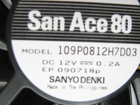 Sanyo 6450484001 Sanyo Projector Lamp Fan 6450484001