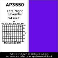 "Apollo Design Technology AP-GEL-3550 GelSheet, 20""x24"", Late Night Lavender AP-GEL-3550"