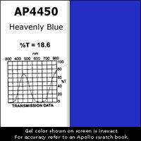 """Apollo Design Technology AP-GEL-4450 Gel Sheet, 20""""x24"""", Heavenly Blue AP-GEL-4450"""