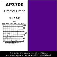 "Apollo Design Technology AP-GEL-3700 Gel Sheet, 20""x24"", Groovy Grape AP-GEL-3700"