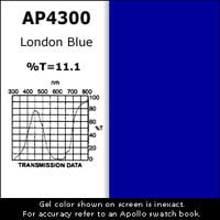 "Apollo Design Technology AP-GEL-4300 Gel Sheet, 20""x24"", London Blue AP-GEL-4300"