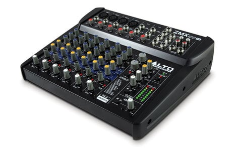 Alto Professional ZMX122FX 8-Channel Compact Mixer with Effects ZMX122FX