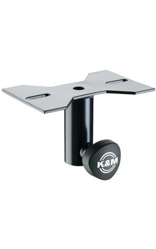 K&M Stands 195/8  Mounting Adapter, Black  195/8