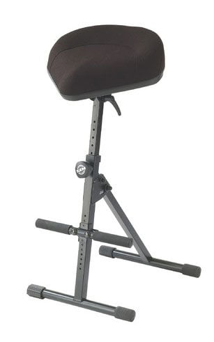K&M Stands 14047  Pneumatic Stool, Bicycle-seat 14047