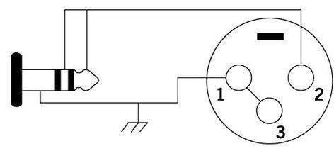 """Cable Up by Vu M3-XF3-15-L+R 15 ft 1/8"""" TRS Male to XLR Female Mono Cable M3-XF3-15-L+R"""