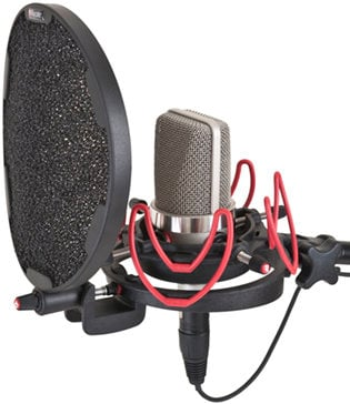 Rycote 045003  InVision Studio Kit with USM-L Mount, Pop Filter 045003