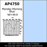 "Apollo Design Technology AP-GEL-4750 Gel Sheet, 20""x24"", Monday Morning Blue AP-GEL-4750"