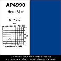 Apollo Design Technology AP-GEL-4990 Gel Sheet, 20x24, Hero Blue AP-GEL-4990