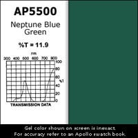 Apollo Design Technology AP-GEL-5500 Gel Sheet, 20x24, Neptune Blue Green AP-GEL-5500