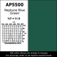 Apollo Design Technology AP-GEL-5500 Gel Sheet, 20x24, Neptune Blue Green AP-GEL-5500