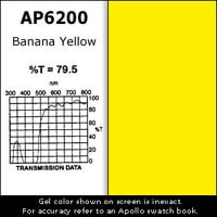 "Apollo Design Technology AP-GEL-6200 Gel Sheet, 20""x24"", Banana Yellow AP-GEL-6200"