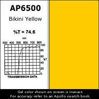 "Apollo Design Technology AP-GEL-6500 Gel Sheet, 20""x24"", Bikini Yellow AP-GEL-6500"