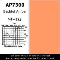 "Apollo Design Technology AP-GEL-7300 Gel Sheet, 20""x24"", Bashful Amber AP-GEL-7300"
