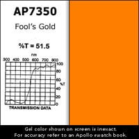 "Apollo Design Technology AP-GEL-7350 Gel Sheet, 20""x24"", Fools Gold Amber AP-GEL-7350"