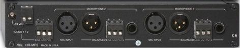 RDL HR-MP2  Dual Microphone Preamplifier  HR-MP2