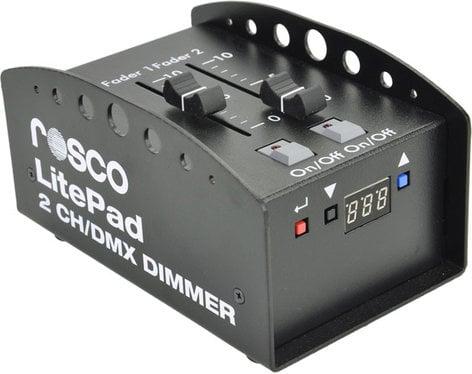 Rosco Laboratories LITEPAD-2CH-DIMMER 2-Channel DMX Dimmer for Litepad LITEPAD-2CH-DIMMER