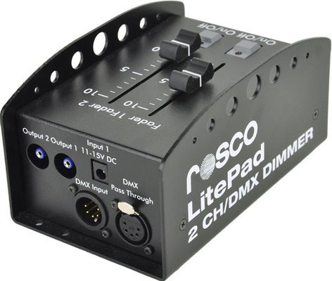 Rosco LITEPAD-2CH-DIMMER 2-Channel DMX Dimmer for Litepad LITEPAD-2CH-DIMMER