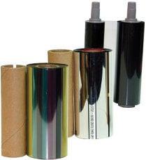 Microboards PRSM-BLK Black Print Ribbon PRSM-BLK