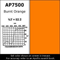 "Apollo Design Technology AP-GEL-7500 Gel Sheet, 20""x24"", Burnt Orange AP-GEL-7500"