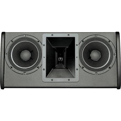 "Electro-Voice FRI-28LPM-BLK Dual 8"" Low Profile Floor Monitor Speaker FRI-28LPM-BLK"