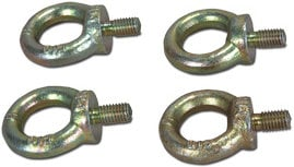RCF AC-EB4X Eyebolt Kit, with 4x 10mm Eyebolts AC-EB4X