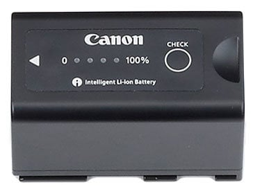 Canon BP955 5200 mAh Lithium-Ion Battery for Canon XF Series Camcorders BP955